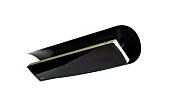 Weathershield 5 Black Accessorie - Studio Image by Heatscope Heaters